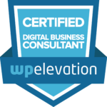 WordPress Elevation Digital Business Consultant badge